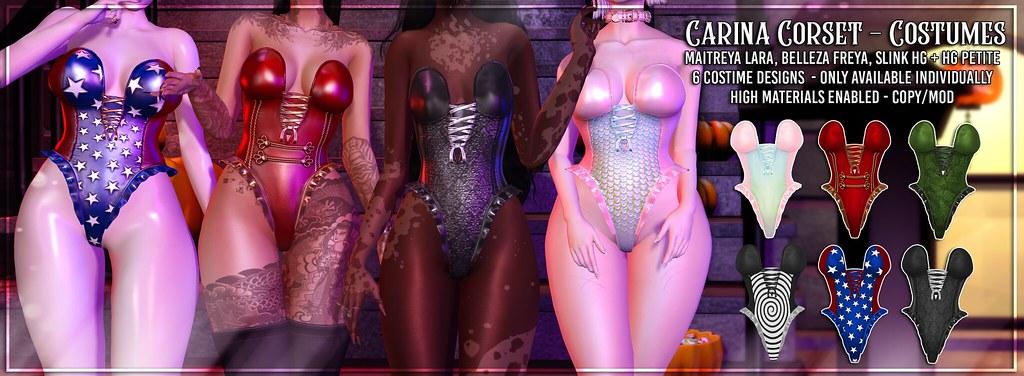 AsteroidBox. Carina Corset - Costumes - SOON @ SALEM - TeleportHub.com Live!