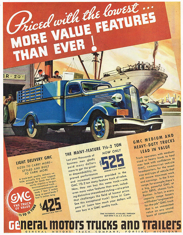 1936 GMC Light Delivery