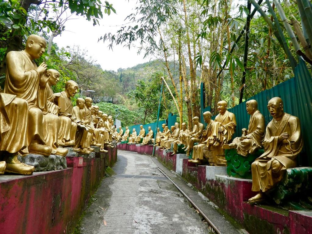Monastery of 10,000 Buddha's Hong Kong