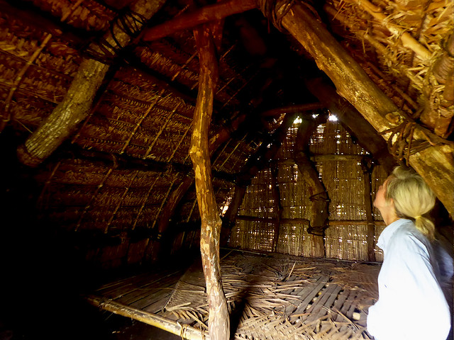 Traditional Buildings built at scale have a the ability to house large numbers of Ni-Vanuatu during times of disaster.