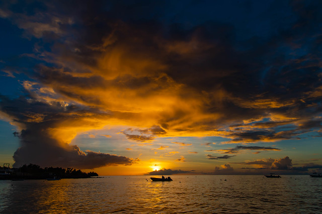 Guadeloupe, Sunset over the, Nikon D810, Sigma 24-105mm F4 DG OS HSM