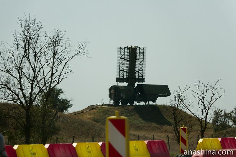 Крым, Стрельбовый радар ПВО