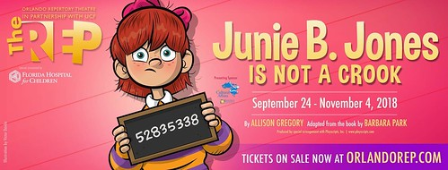 """Junie B. Jones Is Not A Crook"" at Orlando REP"