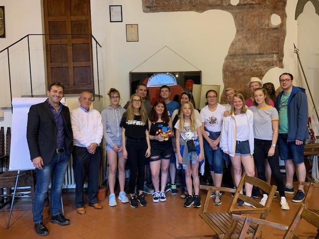 I giovani di ASJ a Firenze