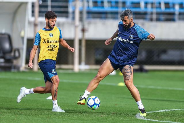 Treino Grêmio 10/10/2018