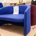 2 seater blue fabric E135