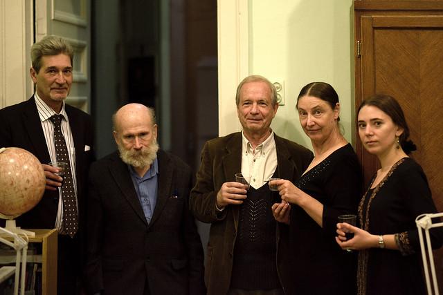 Arthur Chernin and colleagues, SAI MSU