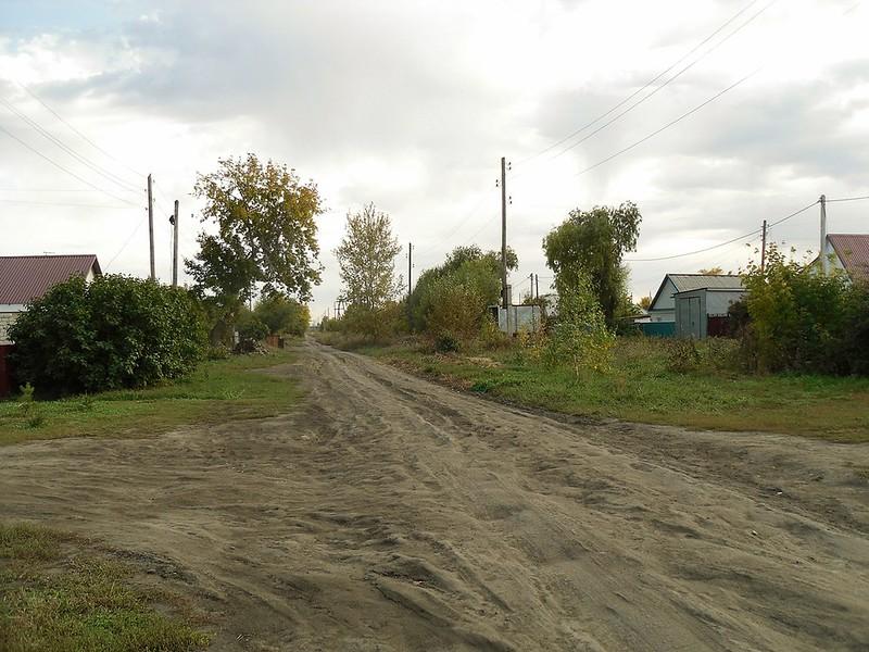 Славгород, улица имени 50-летия Октября.