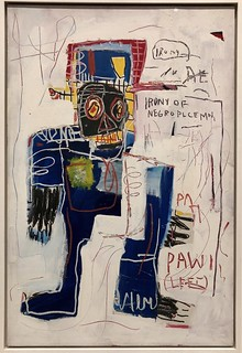 Irony of a Negro Policeman, 1981, Jean-Michel Basquiat