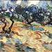 Vincent van Gogh (1853 - 1890), Les oliviers, 1889