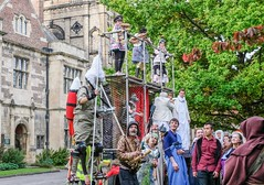 YMPST waggon play performance, King's Manor, 16 September 2018 - 08