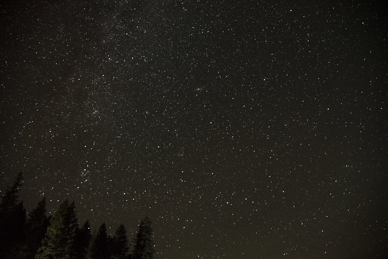 Starry skies over Clear Lake