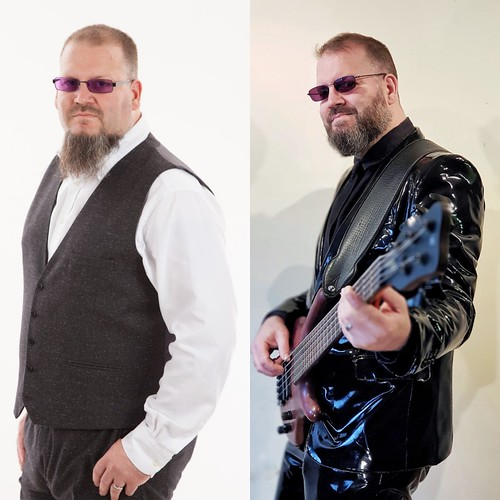 The victory photo.  In August 2017 we had a photo shoot for my covers band, Face the Music. The photo on the left is one from that shoot.  I thought I looked ok, but when I got the photos back I was horrified at how fat and lumpy I was. I hate the photos