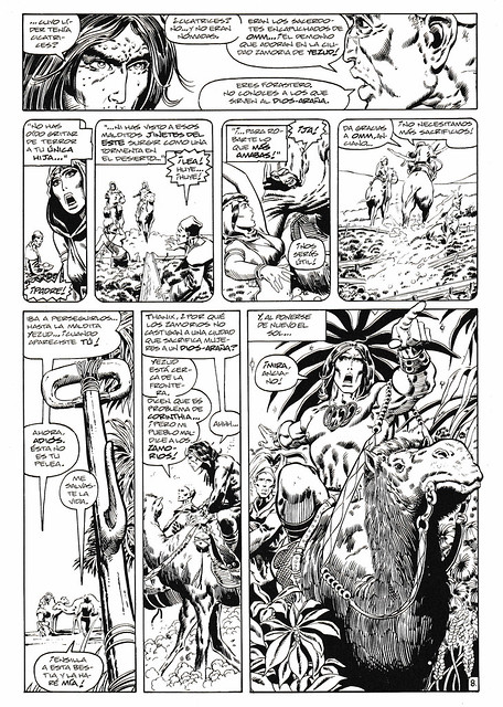 Conan de Roy Thomas y Barry Windsor Smith 05 -02- La Red del Dios Araña 01