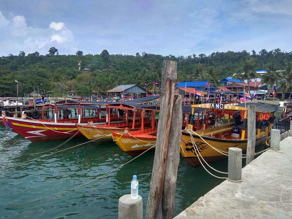 moverse por Koh Rong