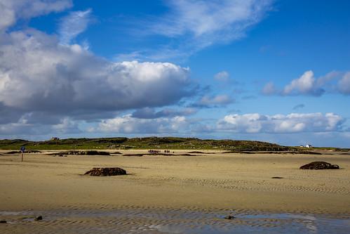 The Strand & Omey Island, near Claddaghduff Ierland October 2018