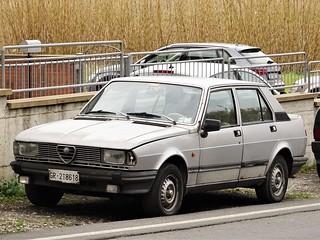 1982 Alfa Romeo Giulietta 1.8