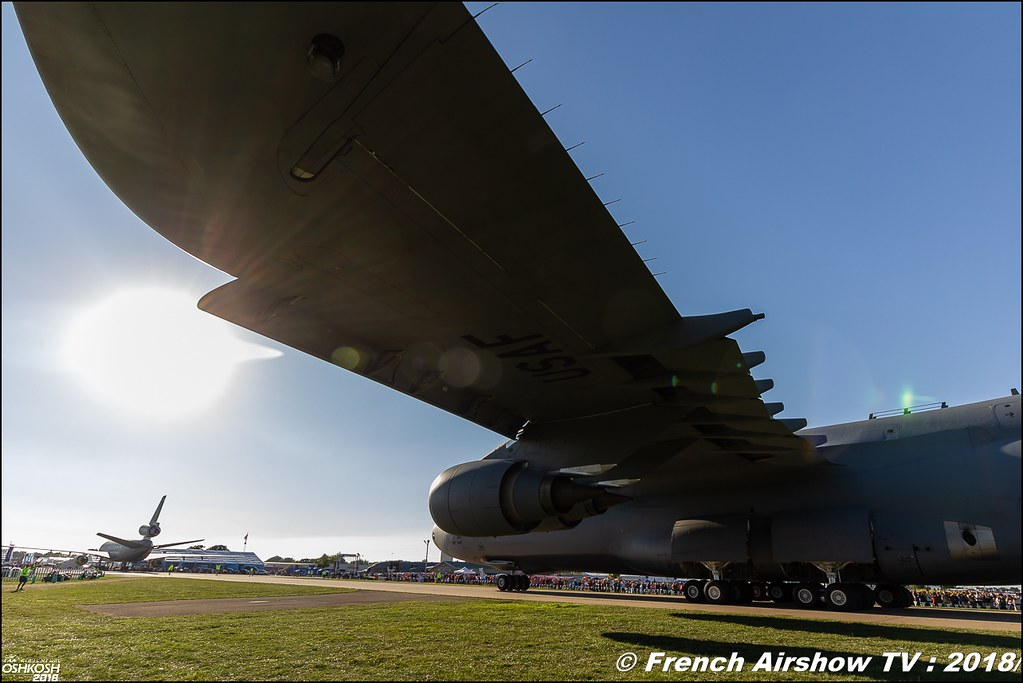 Lockheed C-5M Super Galaxy EAA Oshkosh 2018