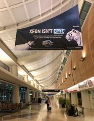 Intel Xeon vs. AMD EPYC Ad, San Jose Mineta International Airport - SJC