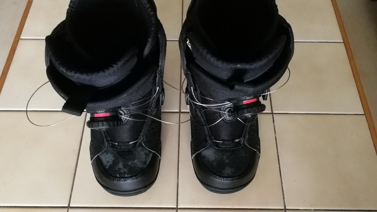 Dětský SNB 90 cm + vázání a boty Flow - Bazar - SNOW.CZ 4b9fa09def