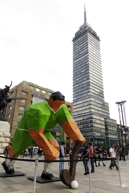 Escultura deportiva para México 68