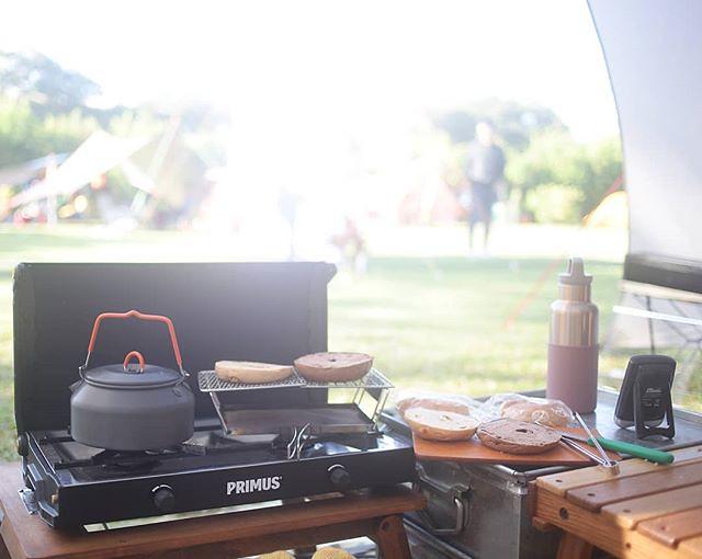20181028 早安 #歐北露 #campinglife #ilovecamping #campingbreakfast #primus #GSI #uniflame