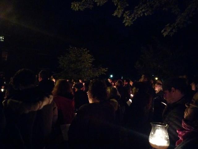 Vigil (3) #toronto #dufferingrovepark #ifnotnow #pittsburghstrong #vigil #night #latergram