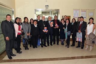 El exministro de Educación, Idel Vexler, presentó su libro Gobierno educativo: diez claves, una publicación del Fondo Editorial de la Universidad San Ignacio de Loyola.