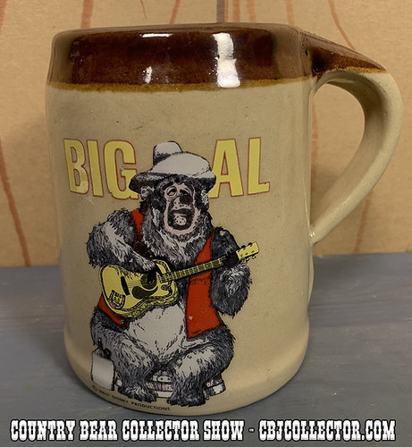 Vintage Disney Parks Big Al Mug - Country Bear Collector Show #173