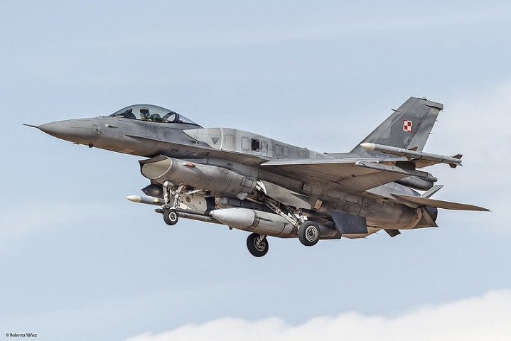 F-16C Block-52 Polish Air Force