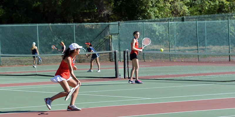 Varsity Tennis BCL West Tournament, Oct. 31, 2018