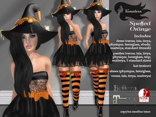 Tameless Spelled - Orange