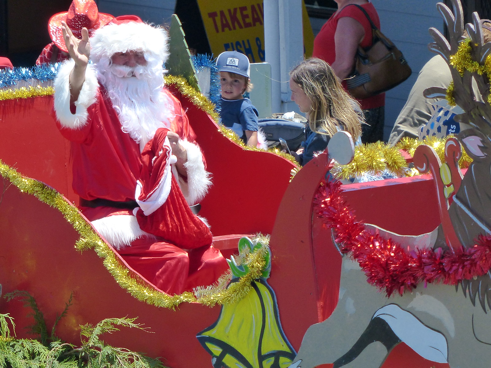 Waihi Christmas Parade 2018