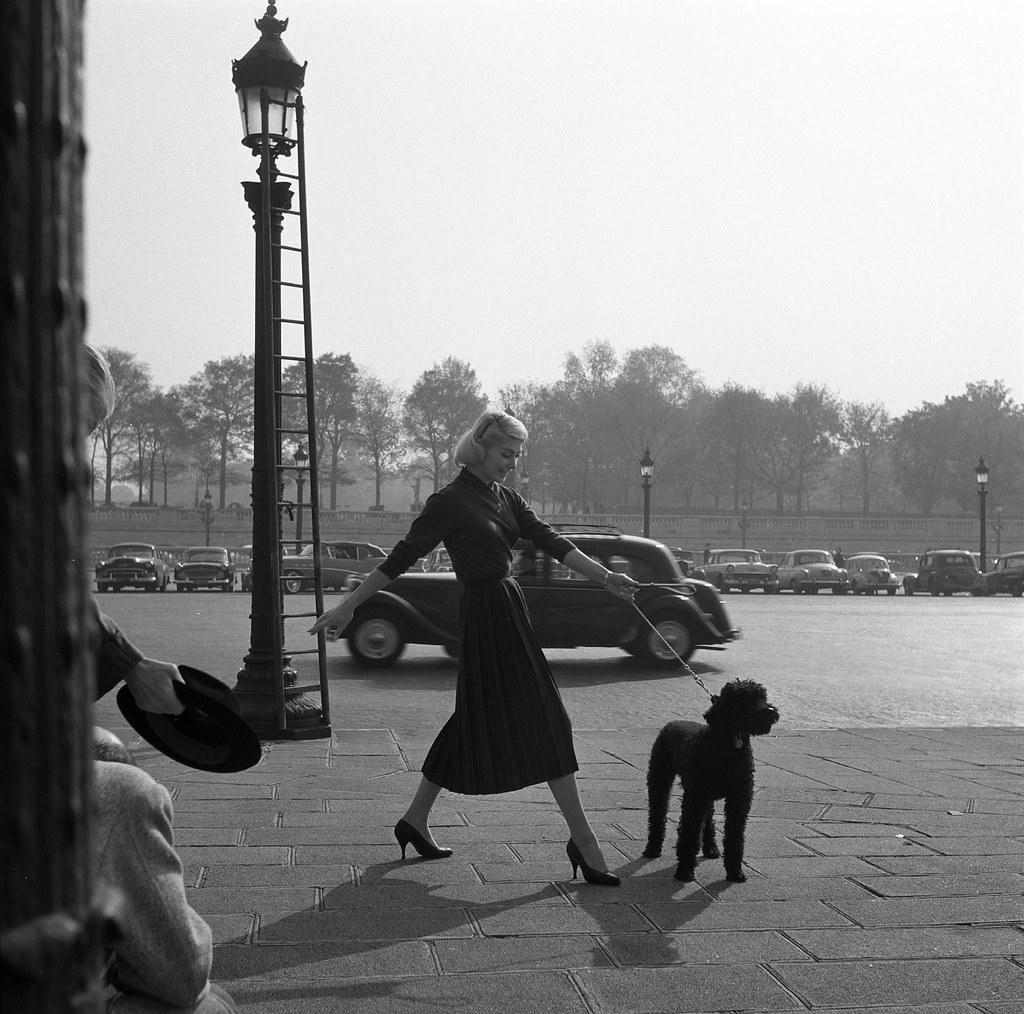 Place de La Concorde, Paris (A. Ferrari, 195...)