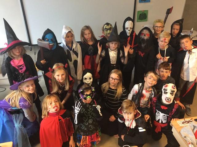 Klas 4:Halloween.