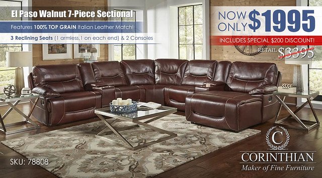 El Paso Walnut 7PC Sectional_78808_Update2