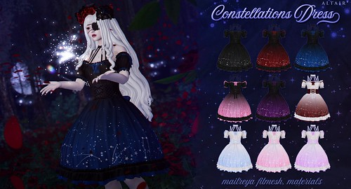ALTAIR* constellations dress