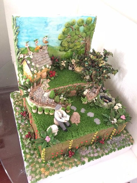 Cake by Fathima Farvin of Disney Cake's