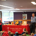Mon, 2018/09/24 - 2:49pm - Clarington Public Library was excited to welcome Arlene Chan to the Bowmanville Branch on Monday, September 24, 2018!  We celebrated the Moon Festival with Arlene Chan, author of seven books about the history, culture, and traditions of the Chinese in Canada! This mid-autumn festival is a centuries-old celebration of the harvest, and plays an important role in Chinese culture.  We acknowledge the support of the Canada Council for the Arts, which last year invested $153 million to bring the arts to Canadians throughout the country. Nous remercions le Conseil des arts du Canada de son soutien. L'an dernier, le Conseil a investi 153 millions de dollars pour mettre de l'art dans la vie des Canadiennes et des Canadiens de tout le pays.