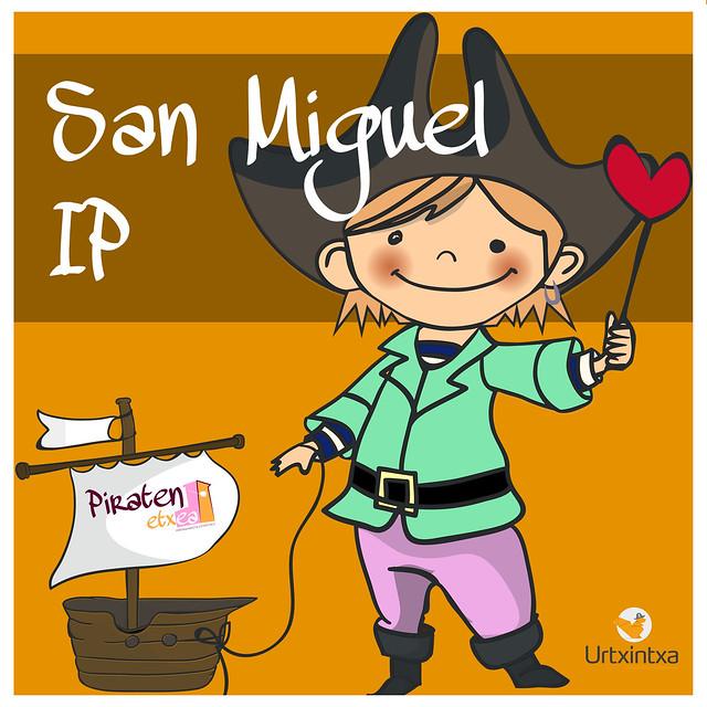 Pirata egonaldia-San Miguel IP 2018-10-15/2018-10-17