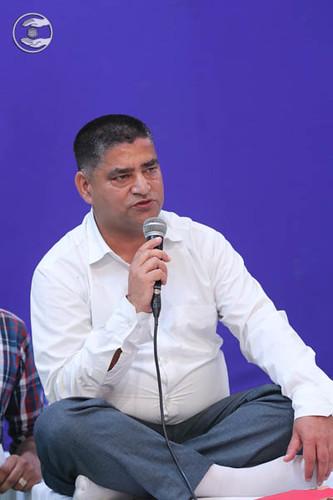 Stage Secretary, Rajeev from Dehradun