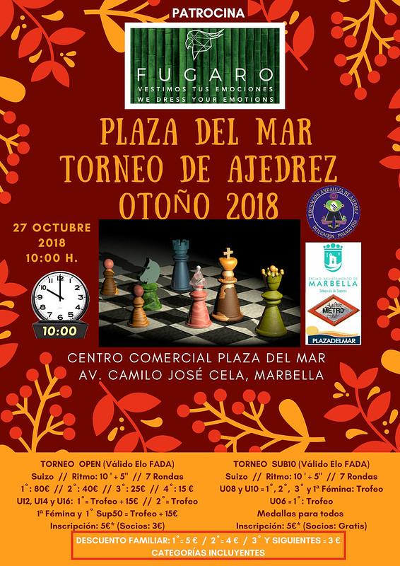 TORNEO PLAZA DEL MAR OTOÑO 2018 D