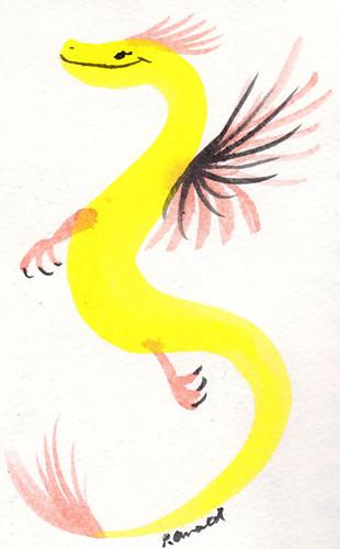 10.12.18 - Little Swirly Dragon