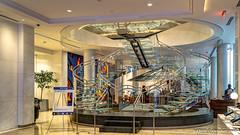 Atlanta, GA: Double helix spiral staircase Hotel Indigo Downtown (Open House Atlanta)