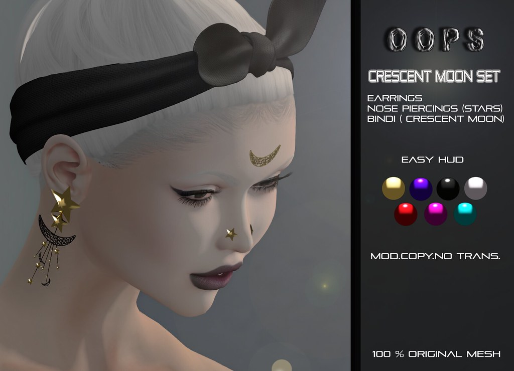 ::OOPS:: Crescent Moon Set