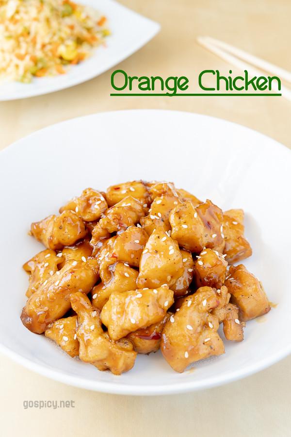 Orange Chicken Recipe by GoSpicy.net