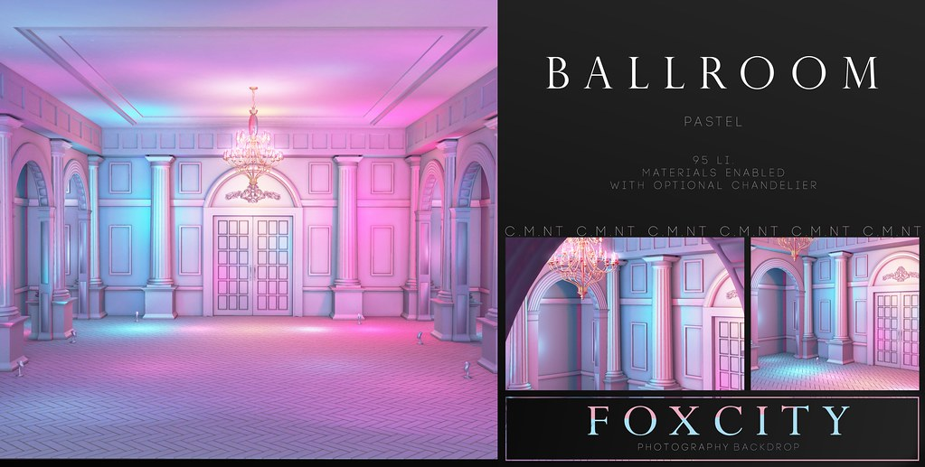 FOXCITY. Photo Booth - Ballroom Pastel - Limit8 - TeleportHub.com Live!