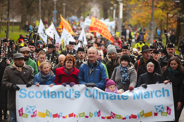 Scotland's Climate March