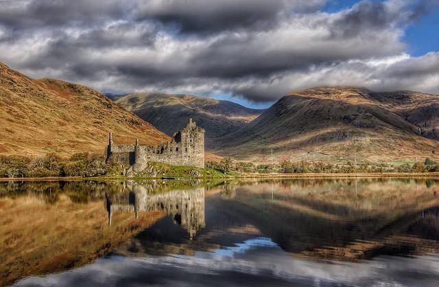 Kilchurn castle Dalmally Scottish Highlands