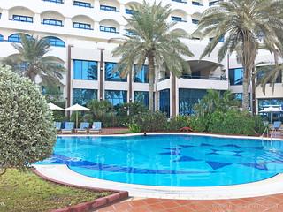 Ajman Hotel Pool Area 7